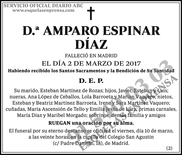 Amparo Espinar Díaz